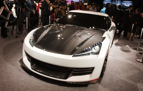 First Look: Acura NSX Concept
