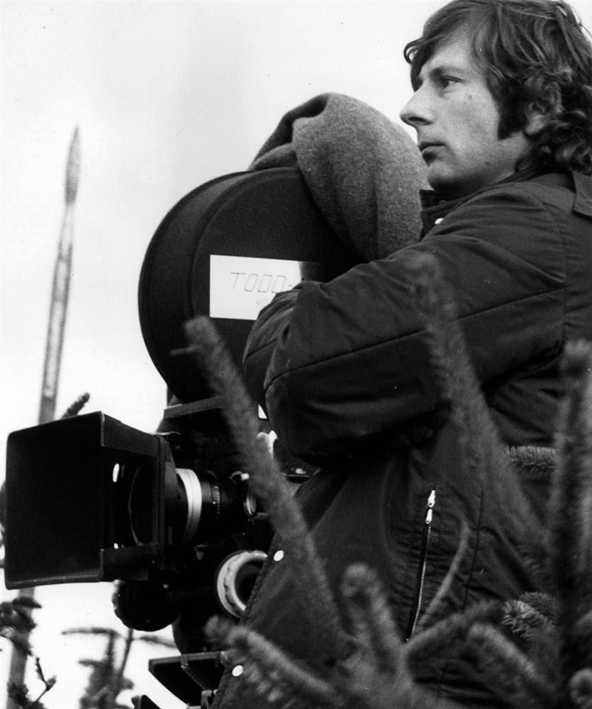 Полански на месте съемок фильма по мотивам шекспировского «Макбета» в Нортамберленде