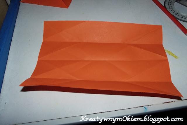jak zrobić lisa  z origami z dzieckiem