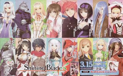 shining blade psp