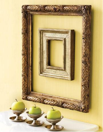Ilumina tu vida inspiraciones marcos de cuadros para - Marco para cuadro ...