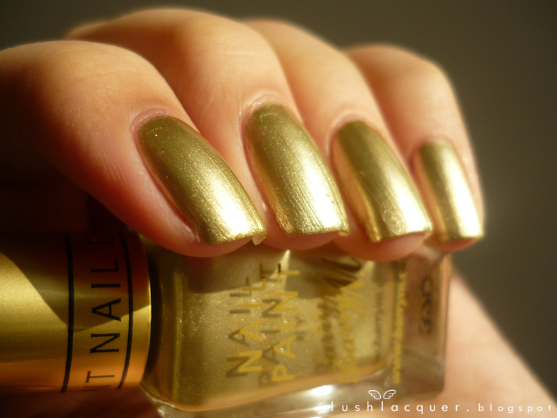 Barry M Instant Nail Effects Foil Gold and Silver Swatches   Brit Nails