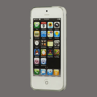 Transparent Clear Crystal Case for iPhone 5 5s