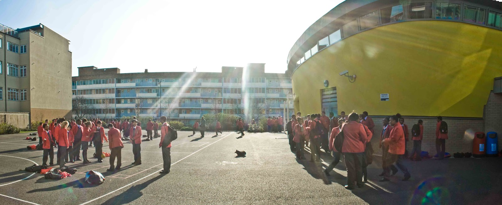City academy hackney project production stills yohan forbes