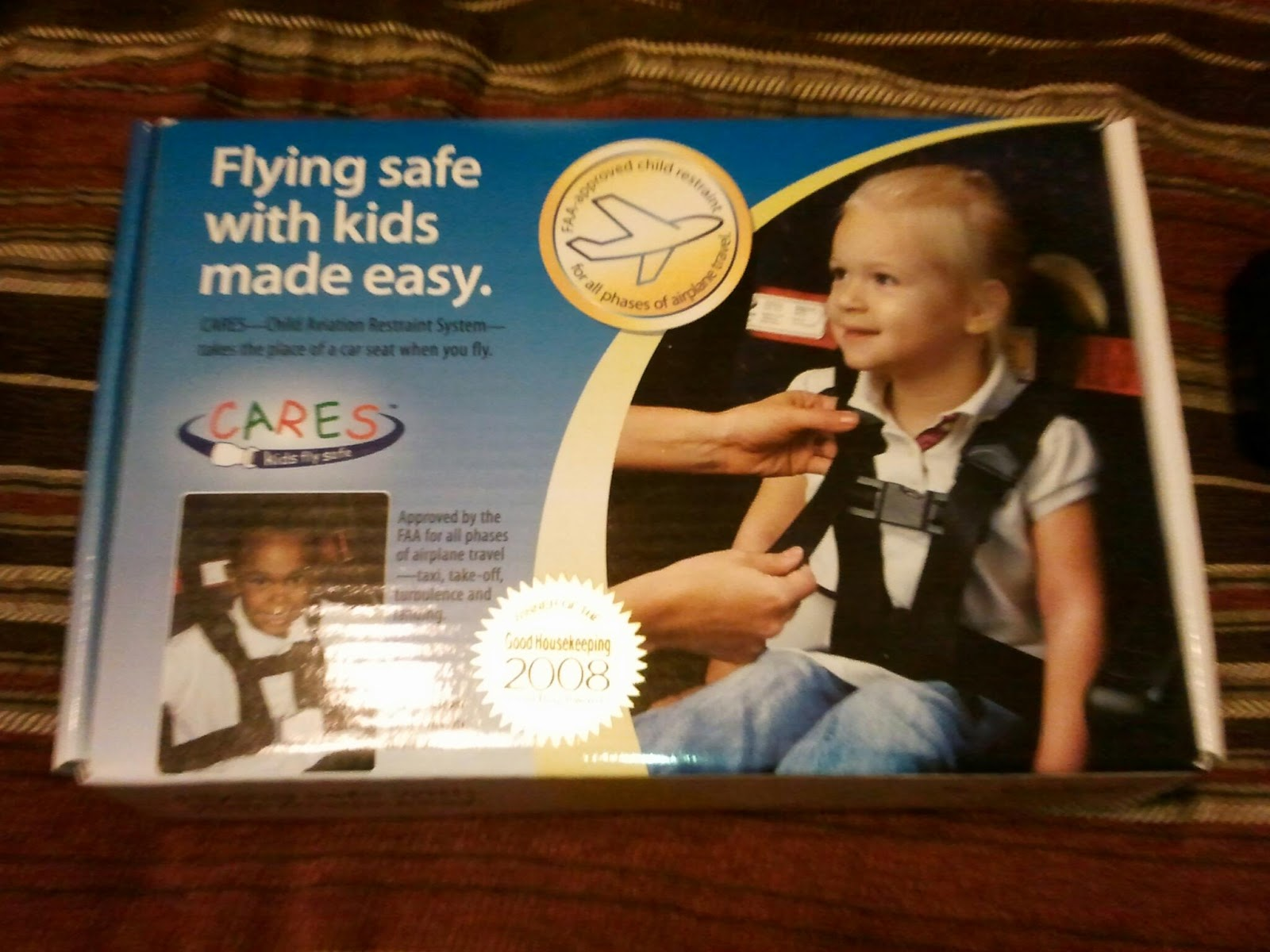 Crunchier By The Day: Kids Fly Safe - CARES Harness Review and ...