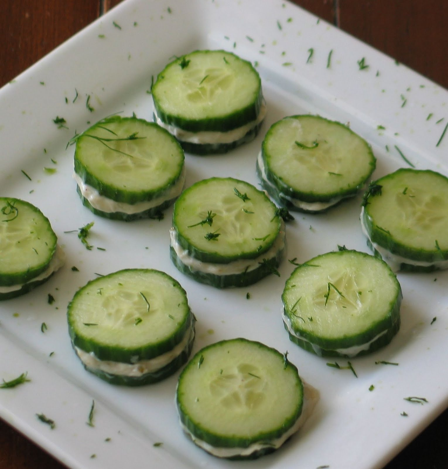 Taste as you Cook: Cucumber Sandwiches with Cheese Filling