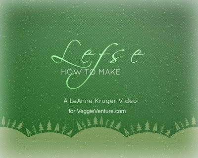 How to make lefse, the Scandinavian Christmas specialty. Step-by-step video, recipe and tips from expert lefse maker LeAnne Kruger. #BestRecipes of 2014 from #AVeggieVenture