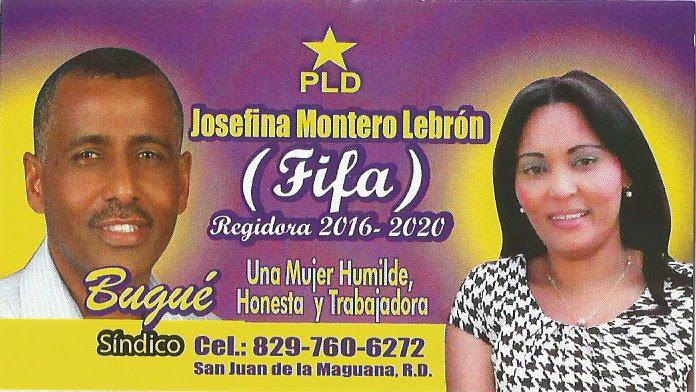 JOSEFINA MONTERO REGIDORA