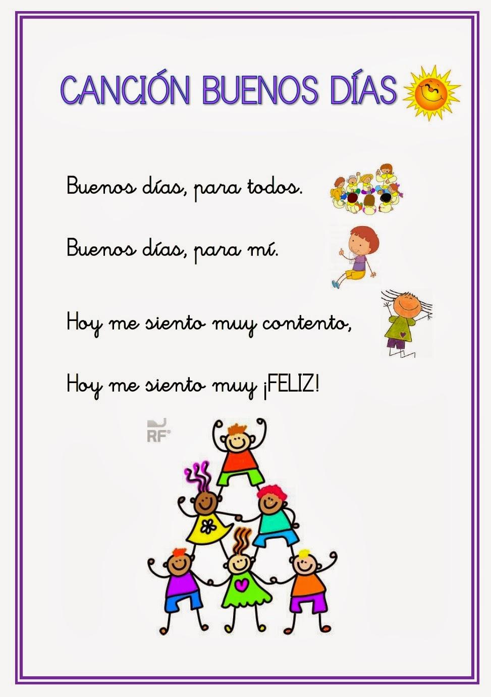 El rinc n de las ilusiones octubre 2014 for Cancion infantil hola jardin