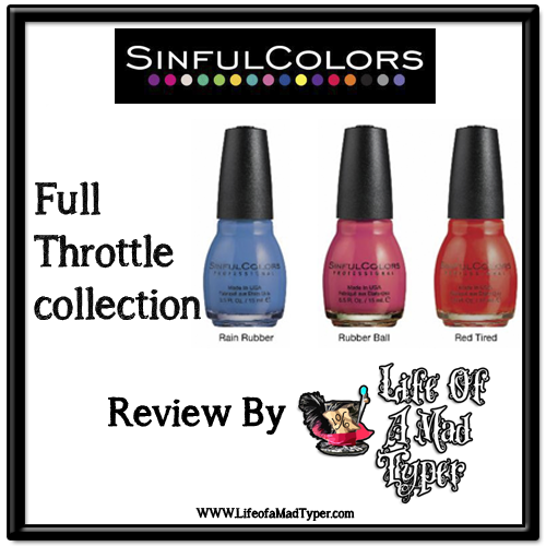 SinfulColors Full Throttle collection
