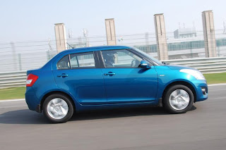new maruti suzuki swift dzire side view