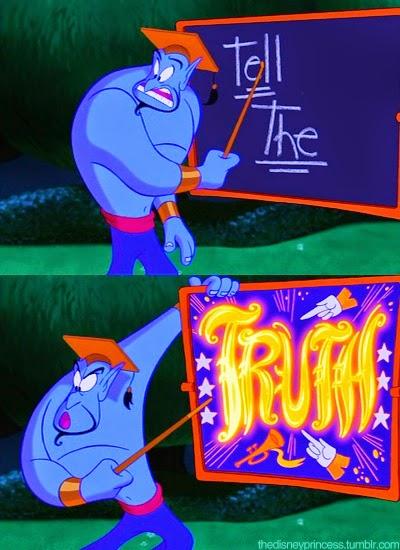 Genio Aladdin verità