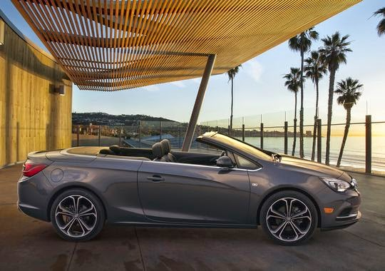 2016 Buick Cascada Convertible Debuts at Detroit Auto Show