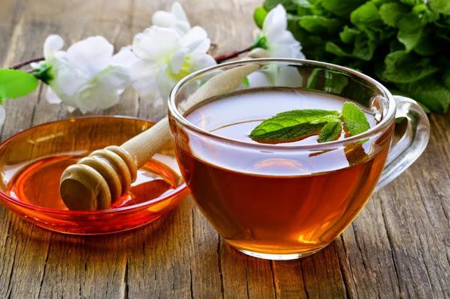 Lợi ích uống trà xanh pha mật ong