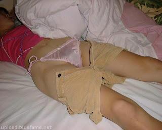 Foto Aneka gaya vulgar abg kalo sedang tidur
