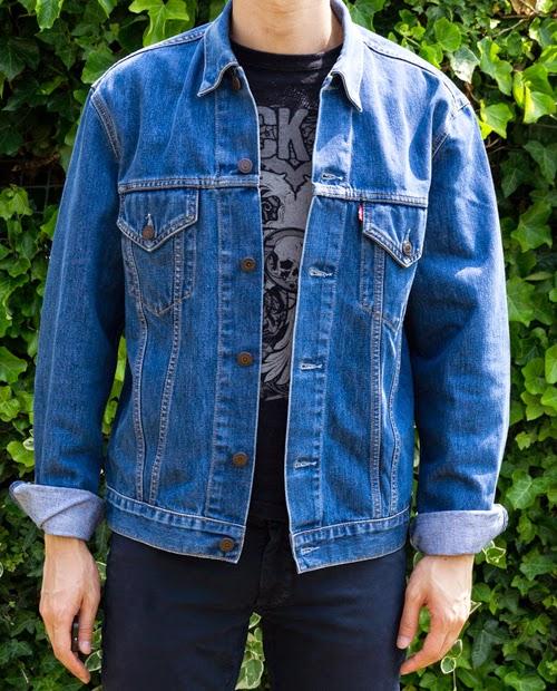 jaket jeans levis untuk pria dan wanita
