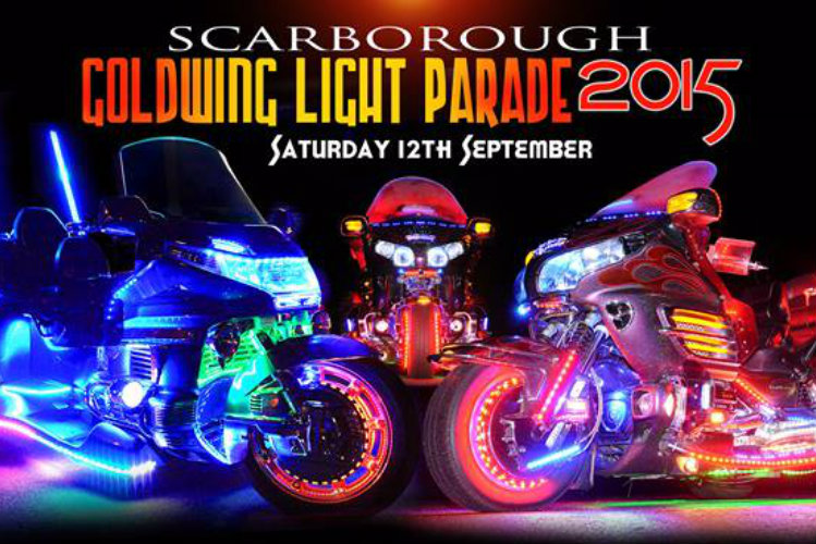 Goldwing Light Parade 2015