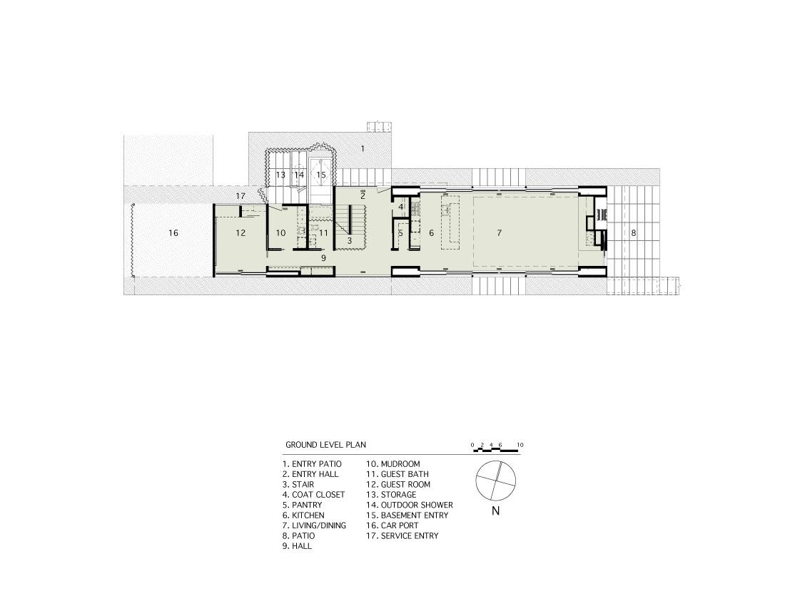 Arquitectura arquidea casa minimalista pryor por bates masi for Vivienda minimalista planos