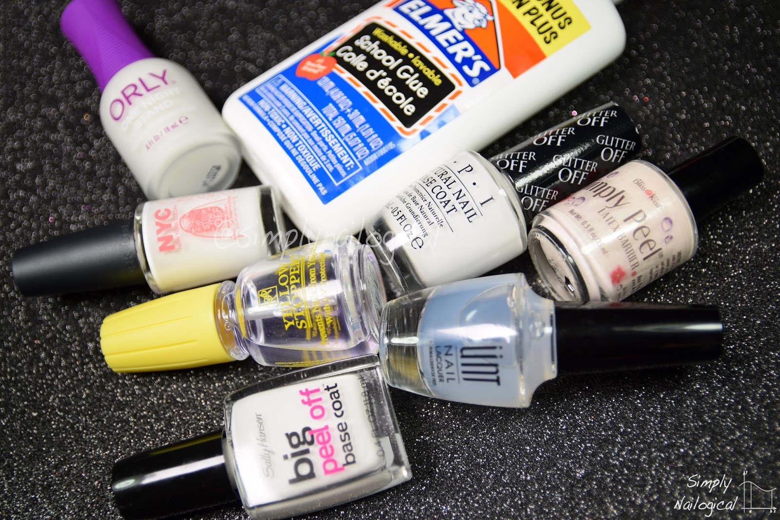 Simply Nailogical: Best Peel-Off Base Coat?!?!?!?