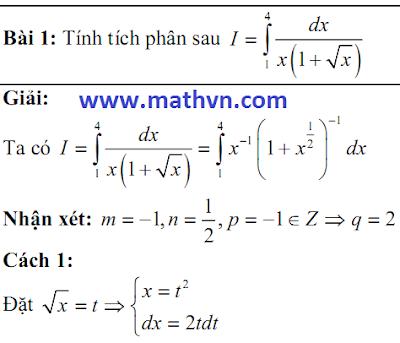 tich phan on thi dai hoc 2011