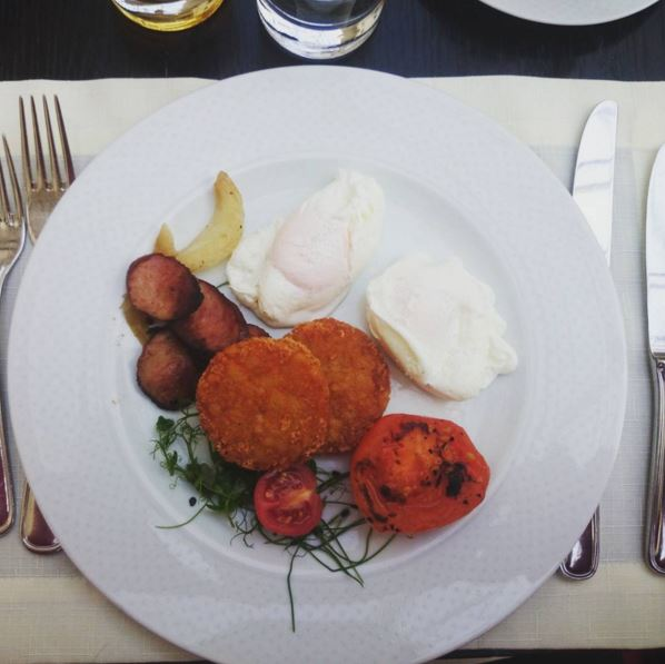 Sheraton Hotel Krakow Breakfast