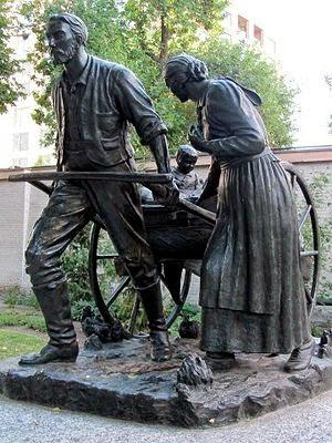 http://en.wikipedia.org/wiki/Mormon_pioneers