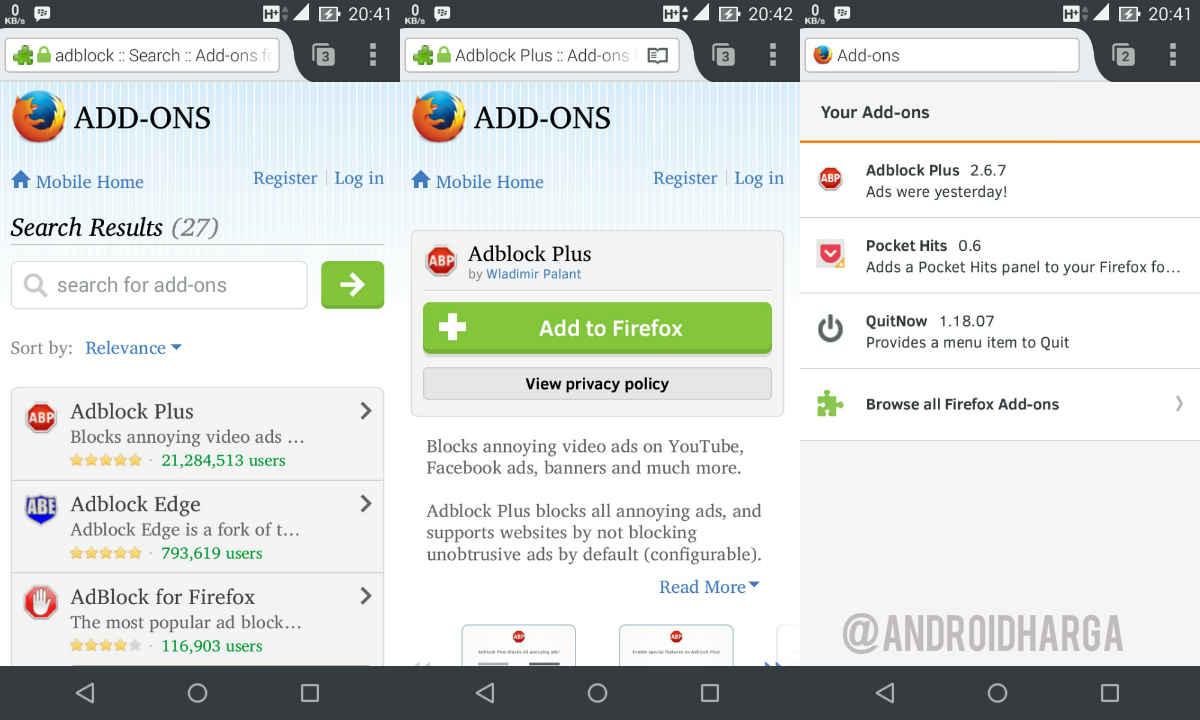 Cara Menghilangkan Iklan di Aplikasi Firefox Android untuk Zenfone 6