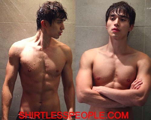 SHIRTLESS KOREAN PEOPLE