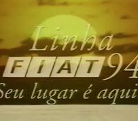Campanha da Fiat para o ano 1994 com sua linha de automóveis.