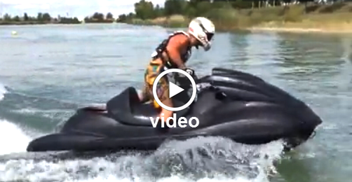 Yamaha 550 HP Turbo Jet Ski Test - Video