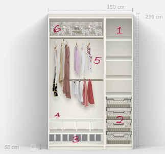 cmo organizar tu armario ropero - Como Organizar Un Armario