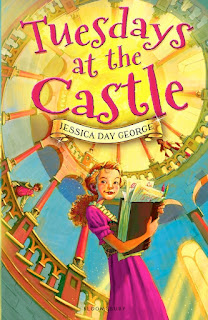 tuesdays at the castle book report Book: tuesdays at the castle author: jessica day george pages: 240 age range: 9-12 tuesdays at the castle, the first of a planned series by jessica day george, has a premise that i was unable to resistprincess celie lives with her family in castle glower castle glower is essentially alive, growing new rooms every tuesday (and at other times, as needed by the family.