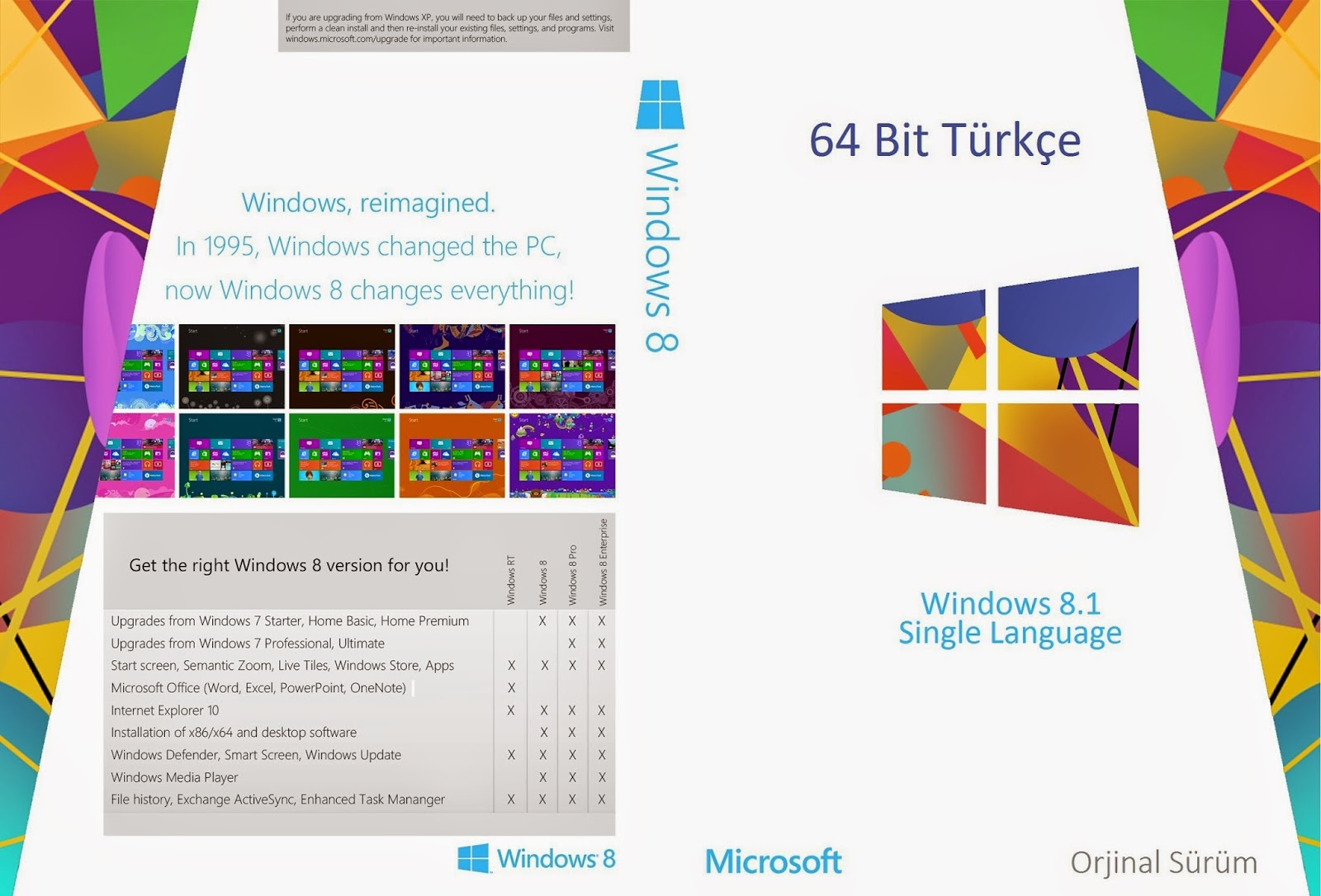 windows 8 torrentle indir 32 bit türkçe