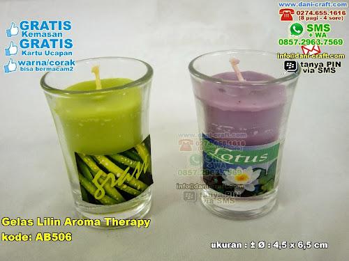 gelas lilin aroma therapy
