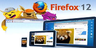 Mozilla Firefox 12
