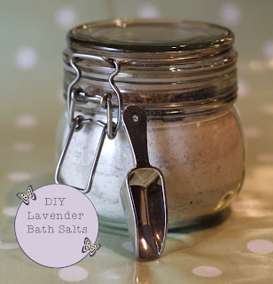 DIY Lavender Bath Salts Tutorial