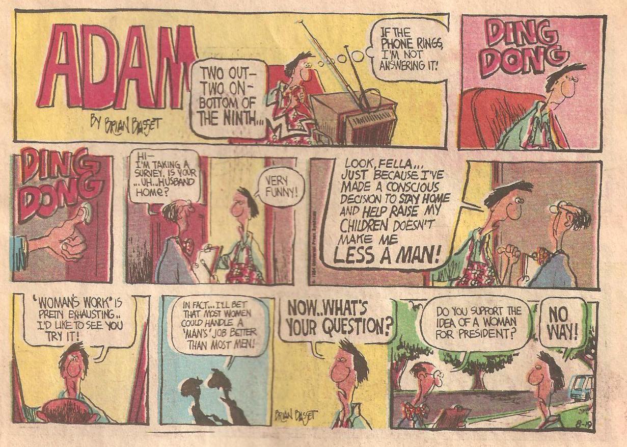 Adam comic strip