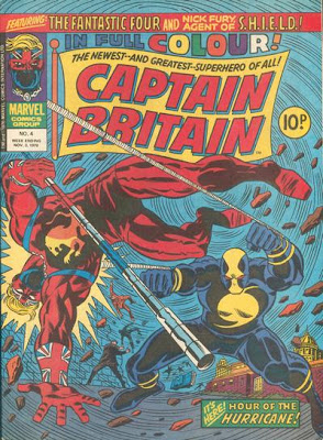 Captain Britain #4, the Hurricane