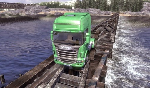 Scania Truck Driving Simulator [FULL ISO] ~ PC Games Full Crack