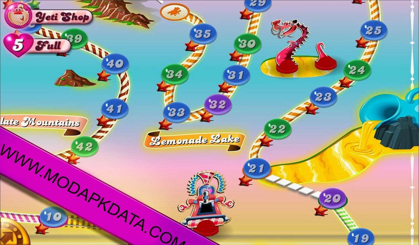 given delicious screenshot is taken while playing candy crush saga