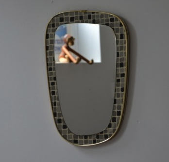1950s Original Little Tiled Mirror 683x1024 460x460 FREE FORM MIRRORS OF THE 50S