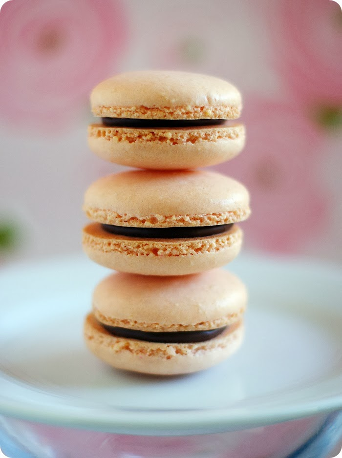 simple macarons...