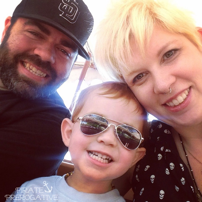 Family selfie. It there anything better? | Pirate Prerogative