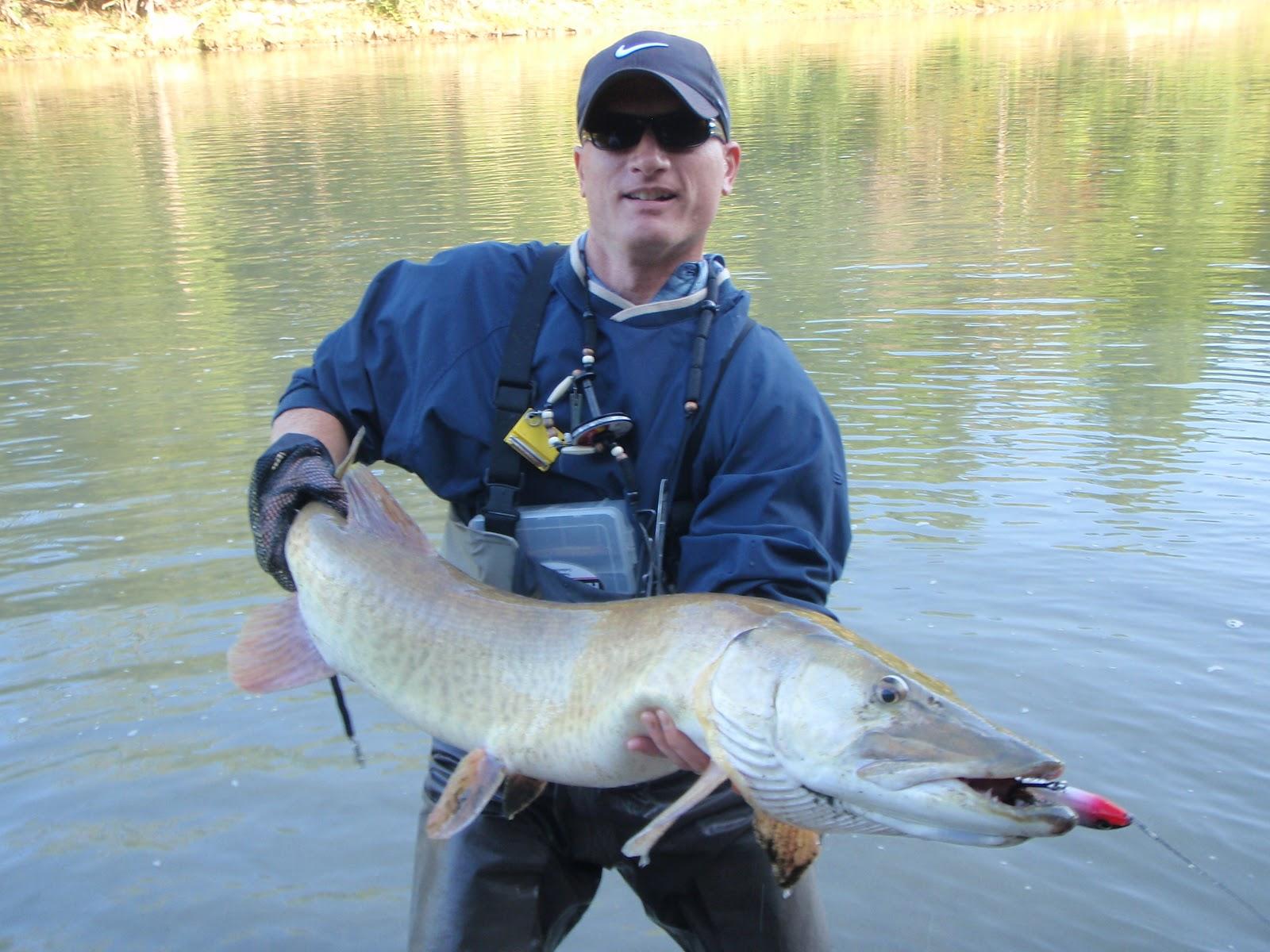 Ohio fishing source photo of the week for Muskie fishing ohio