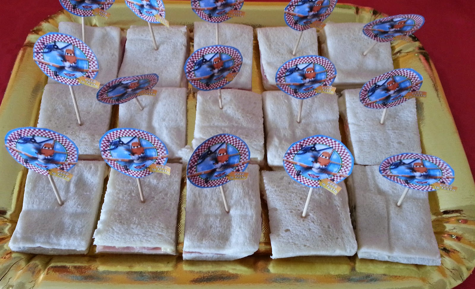 Mezzogiorno Di Cuoco Bruchino Tramezzino Per Una Festa Di