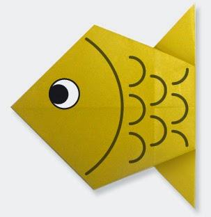 Hướng dẫn cách gấp con Cá Chép bằng giấy đơn giản - Xếp hình Origami với Video clip