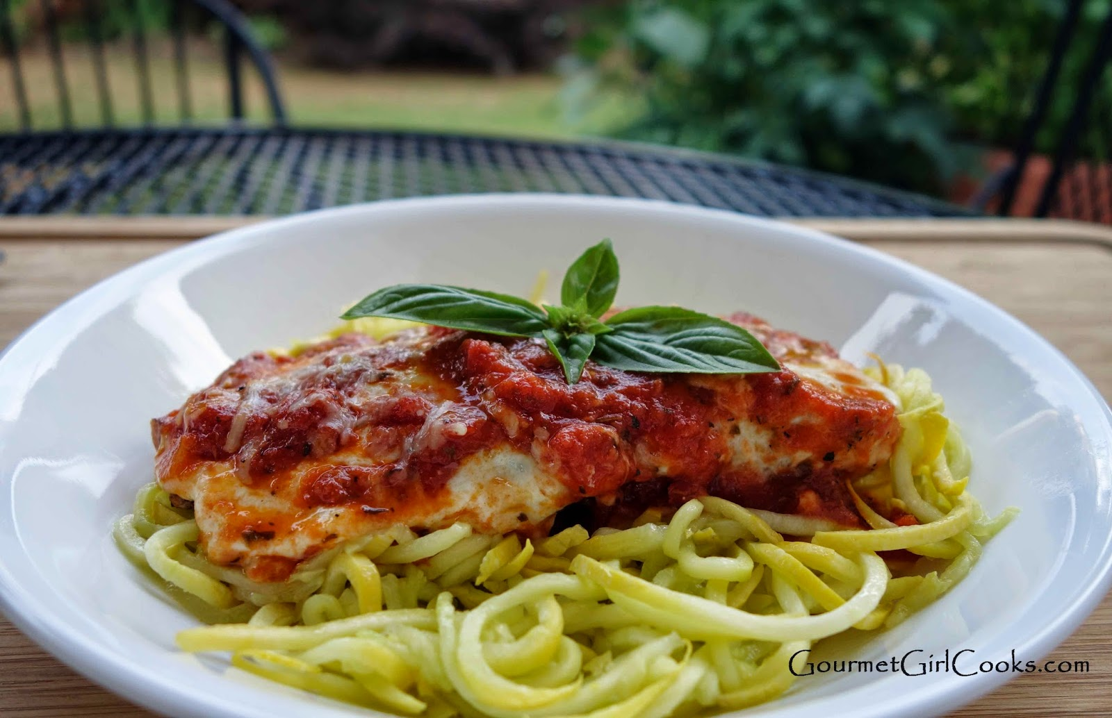 Gourmet Girl Cooks: Grilled Chicken Parmesan -- Low Carb, Quick, Fresh ...