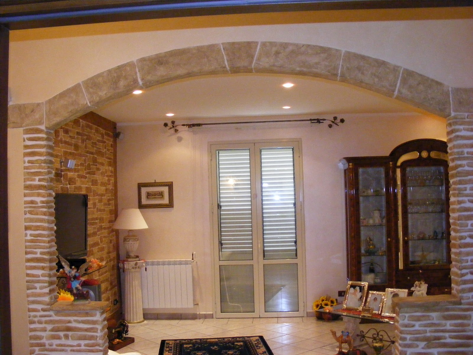 Finto arco interni tutto su ispirazione design casa for Come costruire colonne in stile artigiano