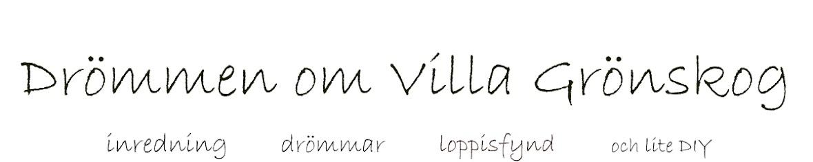 Drömmen om Villa Grönskog