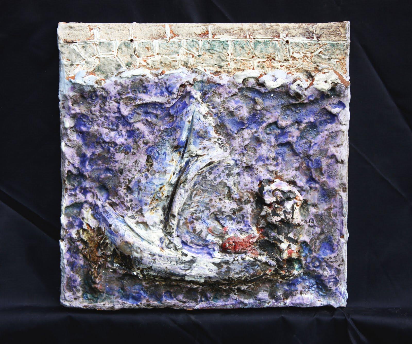 Arte y cer mica afundimento no peirao for Engobes para ceramica